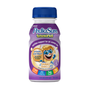 Pediasure Sidekick Bottle Vanilla Flavor 24x8 OZ