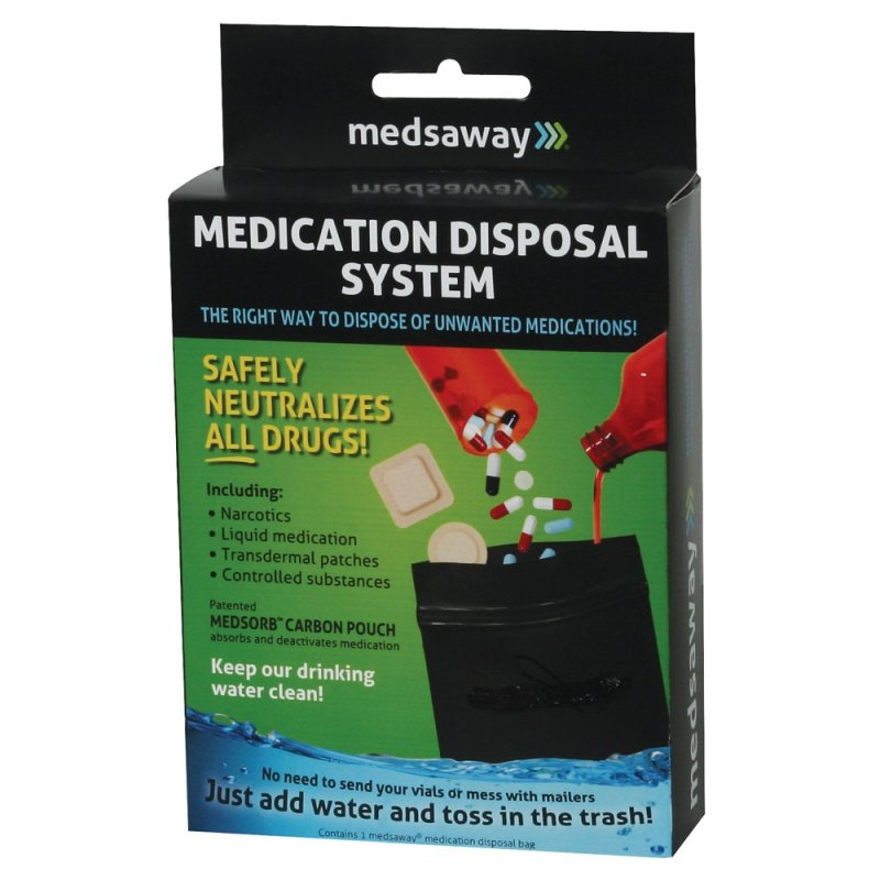 Medsaway Medication Disposal System (3 Boxes)