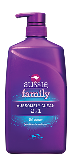 Aussie Aussomely Clean 2 In 1 Shampoo With Conditioner Pump 29.2 OZ