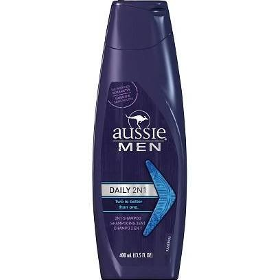 Aussie Daily Clean Men Shampoo 13.5 Oz