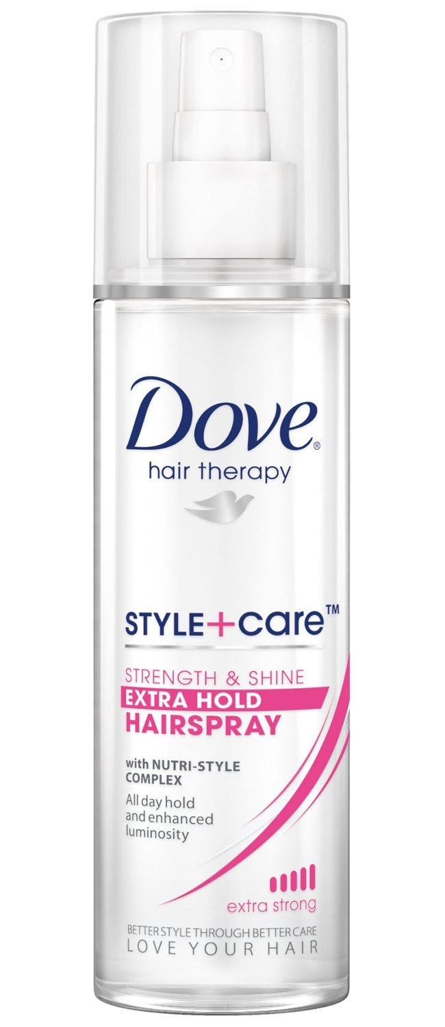 Dove Hair Spray N/A Strength Shine 9.25 Oz