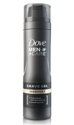 Image 0 of Dove Men+Care Sensitive Skin Shave Gel 7 Oz