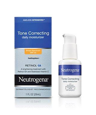 Neutrogena Ageless Intensive Tone Correcting Moisture Spf 30 1 OZ