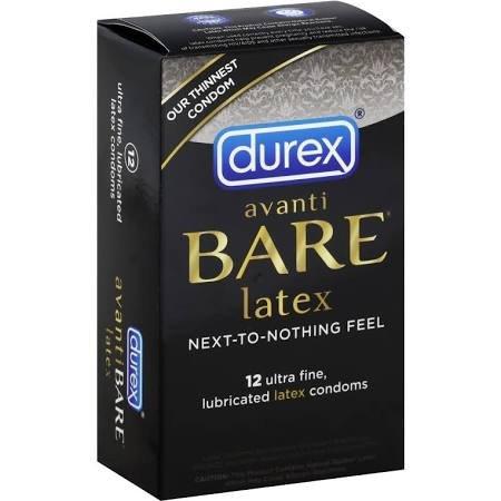 Durex Avanti Bare Condoms 12 Ct.