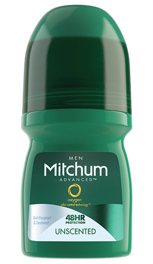 Image 0 of Mitchum Men Roll-On Unscented Deodorant 1.7 Oz