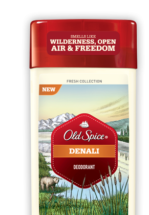 Image 0 of Old Spice Fresh Collection Invisible Solid Denali Deodorant 2.6 Oz