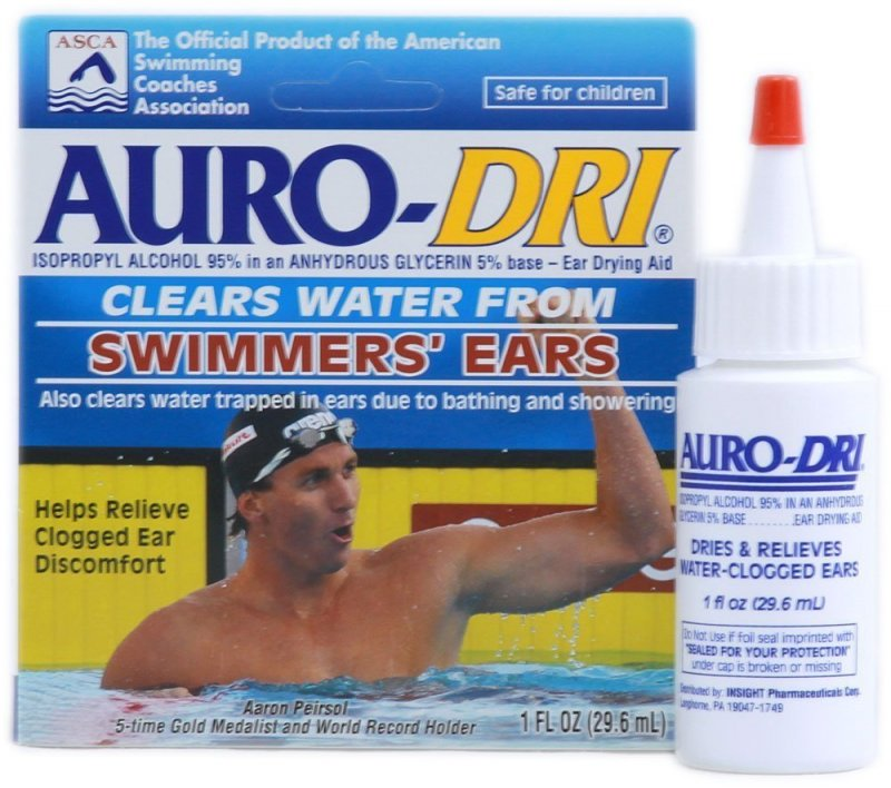 Image 0 of Auro-Dri Ear Water Drying Drop 1 Oz