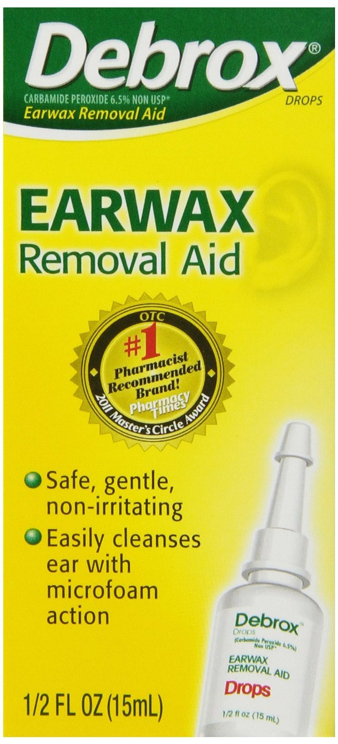 Debrox Ear Wax Removal Drops 0.5 Oz