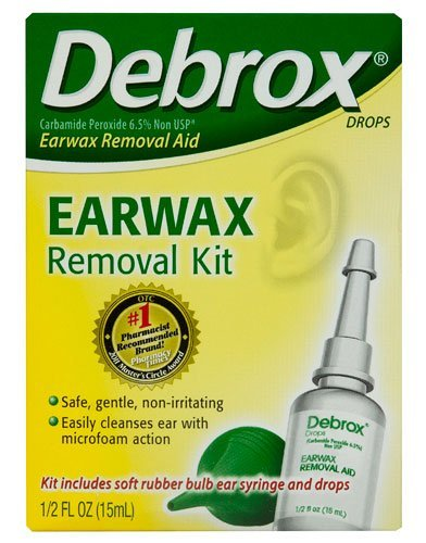 Debrox Ear Wax Removal Kit 0.5 Oz