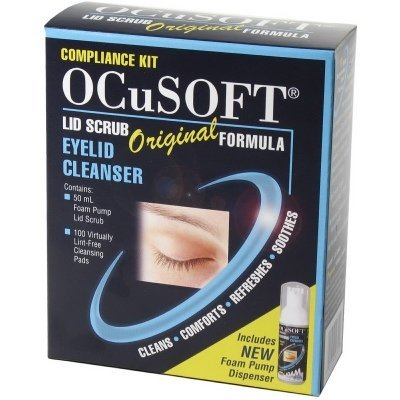 Ocusoft Eye Lid Scrub Foam Compliance Kit 50 Ml