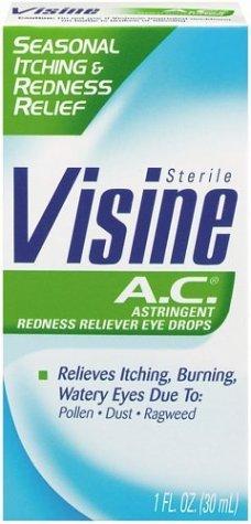 Visine Ac Allergy Red Eye Relief Drop 1 Oz