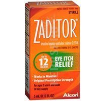 Image 0 of Zaditor Otc Dry Eye Reliever Drop 5 Ml