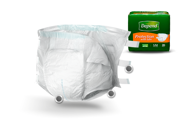 Depend Fitted Briefs Max Absorbency Large & E Large 3x16 Ct.