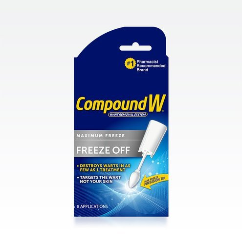 Compound W Freeze Off Wart Remover Pads 8 Ct