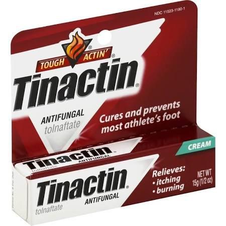 Image 0 of Tinactin Athletes Foot Cream 15 Gm