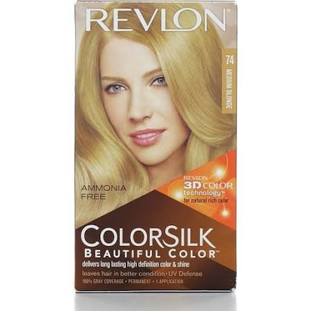 Image 0 of Revlon Colorsilk 74 Natural Blonde