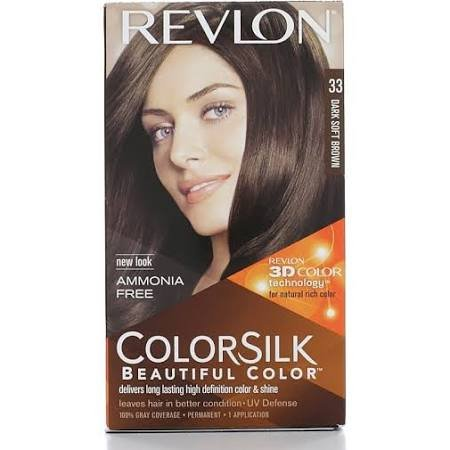 Image 0 of Revlon Colorsilk 33 Dark Soft Brown