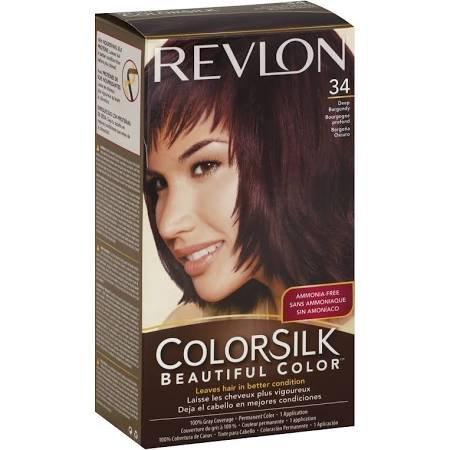 Image 0 of Revlon Colorsilk 34 Deep Burgundy