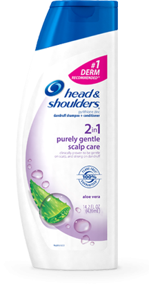 head and shoulders instructions