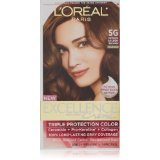 Image 0 of Loreal Excellence Permanent Hair Color 5G Medium Golden Brown