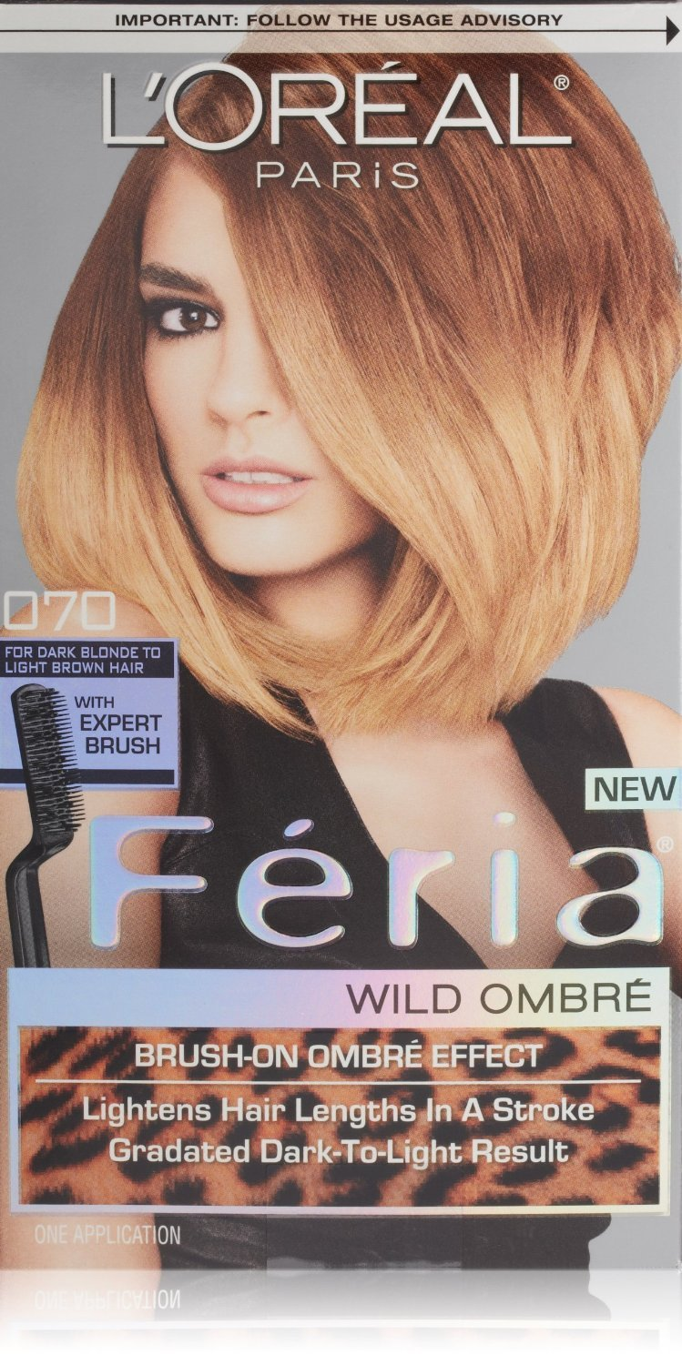 Image 0 of Loreal Feria Permanent Hair Color Ombre 070 Dark Blonde To Light Brown