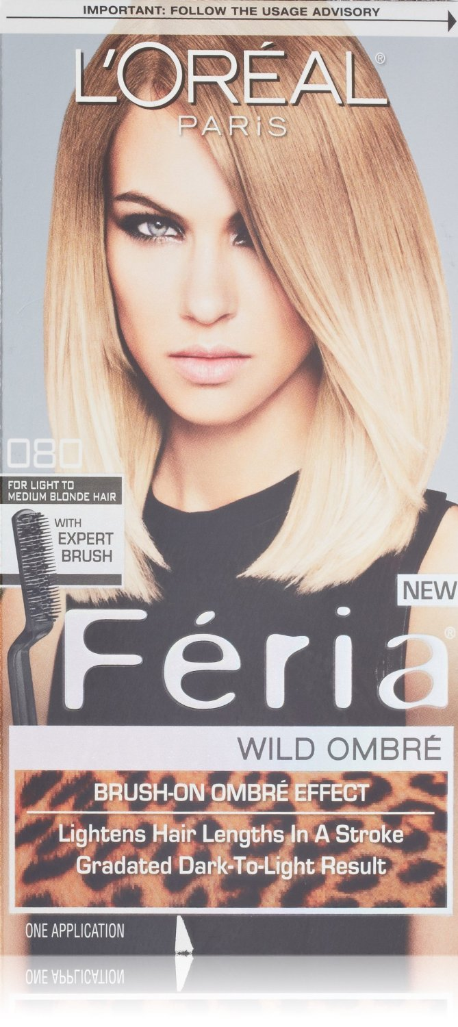 Image 0 of Loreal Feria Omber Permanent Hair Color Light To Medium Blonde