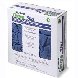 Image 0 of Chemoplus Pf Gloves 50 Ct By Kendall Health Care