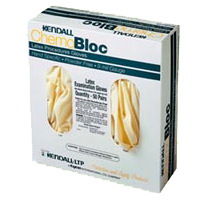 Image 0 of Chemo Bloc Latex Small Gloves 50 Ct By Kendall Health Care.
