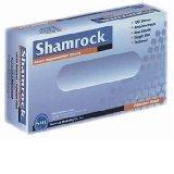 Image 0 of Shamrock 10112P Powder Free Textured Latex Medium Examination Gloves 100 Ct