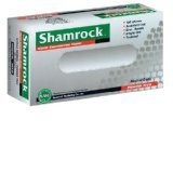 Image 0 of Shamrock Powder Free Textured Blue Nitrile Medium Gloves 100 Ct.