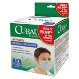 Image 0 of Curad Biomask Antiviral FaceMasks 10 Ct.