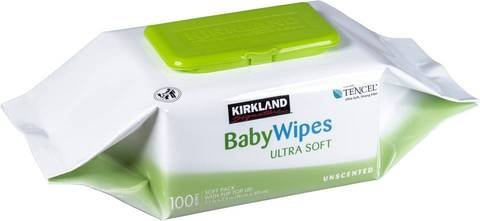 Kirkland Baby Wipes 100