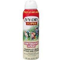 IVY-DRY Super Continuous Spray 3 Oz