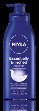 Nivea Enriched Essentially Lotion 16.9 Oz