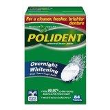 Polident Overnight Denture Cleanser 84 Ct