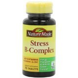 Nature Made Stress B Complex with Zinc Tablets 75 Ct.