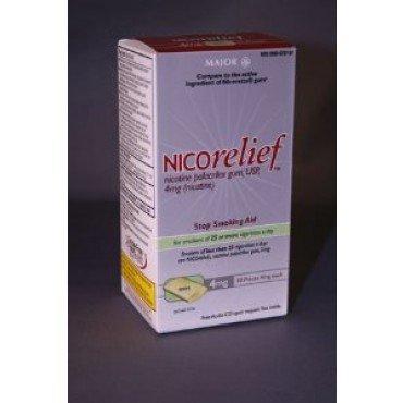 Image 0 of Nicorelief 4Mg Gum Mint Flavor 110 Ct