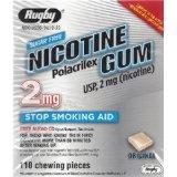 Image 0 of Nicotine Gum Starter Kit 2 Mg 110 Ct