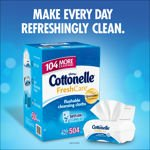 Image 0 of Cottonelle Fresh Care Flushable Cleansing Cloths 504 Cloths