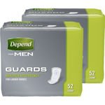 Depend Guards for Men Maximum Absorbency 104 Ct