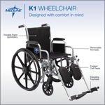 Excel K1 Wheelchair by Medline