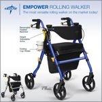 Empower Rolling Walker by Medline
