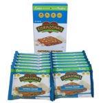 CORAZONAS Heart Healthy White Chocolate Macadamia Nut Oatmeal Squares 72 Ct