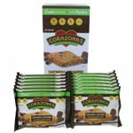 CORAZONAS Heart Healthy Chocolate Chip Oatmeal Squares 72 Ct