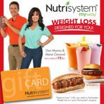 Nutrisystem Success Weight Loss Gift Card