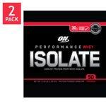 Optimum Nutrition 100% Whey Protein Isolate Vanilla 2x4.5 Oz