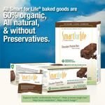 Smart For Life Chocolate Gluten Free & All-Natural Protein Bars 72 Ct