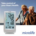 Image 0 of Microlife Premium Touch Screen Blood Pressure Monitor