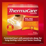 ThermaCare 16 Hours HeatWraps Neck Shoulder and Wrist Wraps 9 Ct