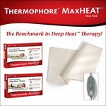 Thermophore MaxHEAT Heating Pad with 2 Covers